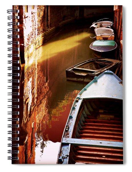 Legata Nel Canale Spiral Notebook
