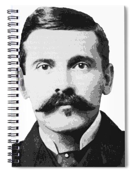 Legend Doc Holliday Spiral Notebook