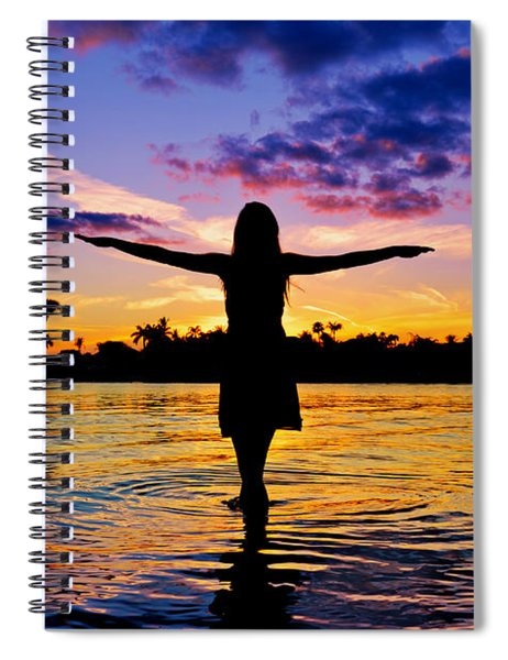 Legend Spiral Notebook