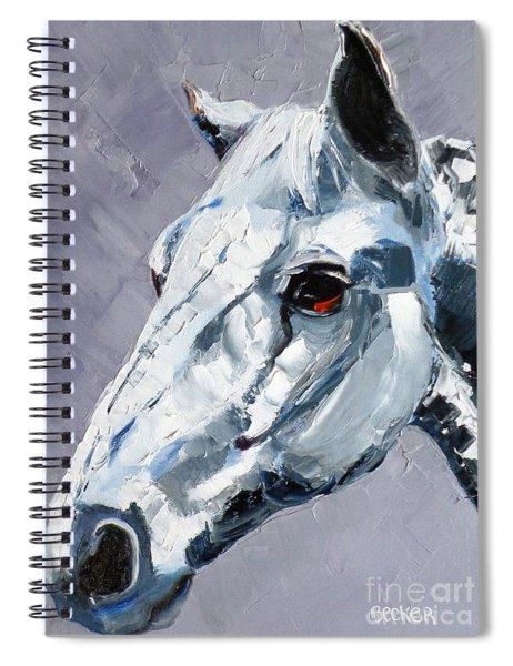 Legend - Sport Horse Spiral Notebook