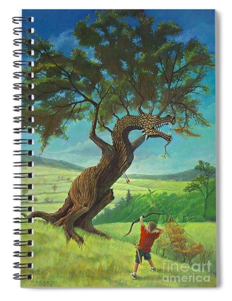Legendary Archer Spiral Notebook