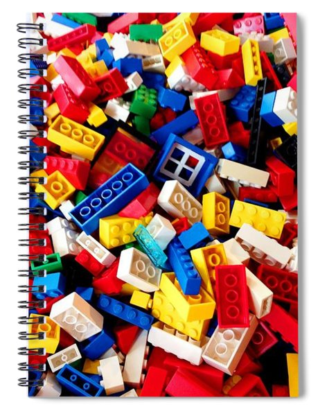 Lego - From 4 To 99 Spiral Notebook