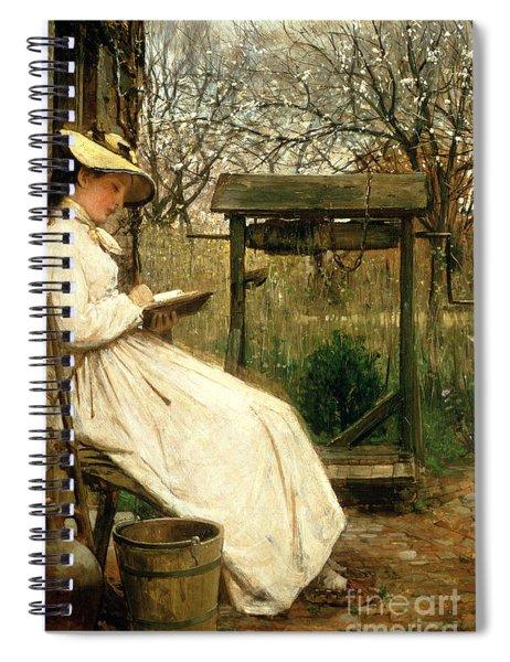 Leisure Hours Spiral Notebook