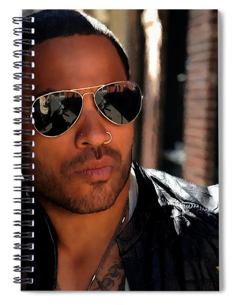 Lenny Kravitz Spiral Notebook