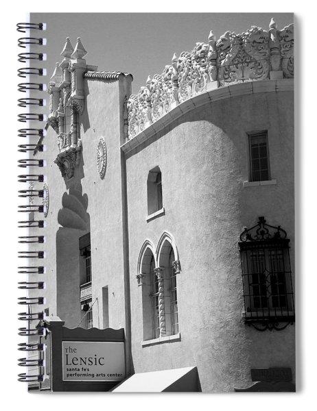Lensic Bw Spiral Notebook