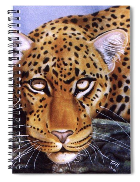 Leopard In A Tree Spiral Notebook