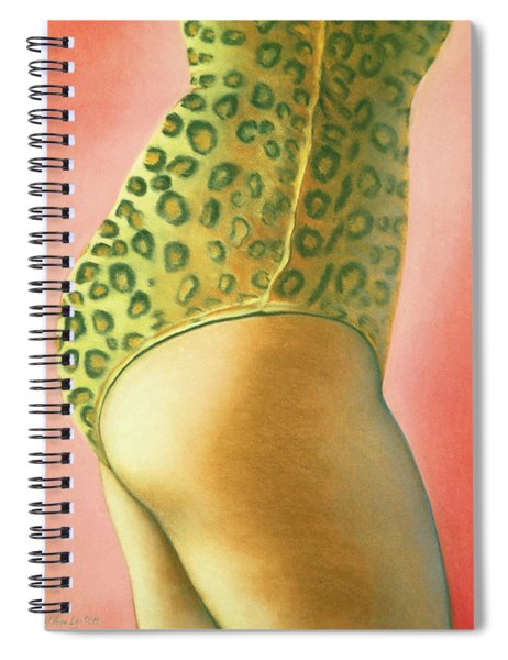 Leopard Suit Spiral Notebook