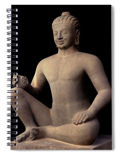 Leper King Khmer  Spiral Notebook
