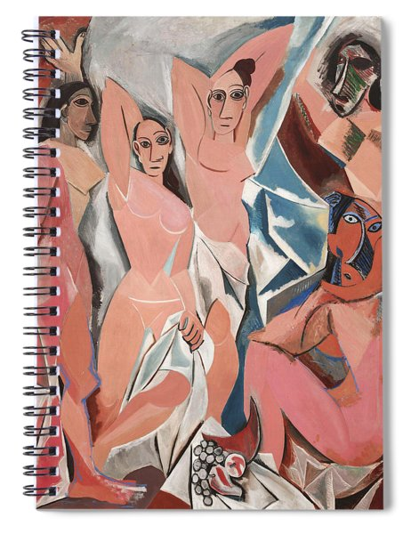 Les Demoiselles D Avignon Spiral Notebook