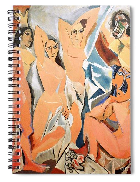 Les Demoiselles D'avignon Picasso Spiral Notebook