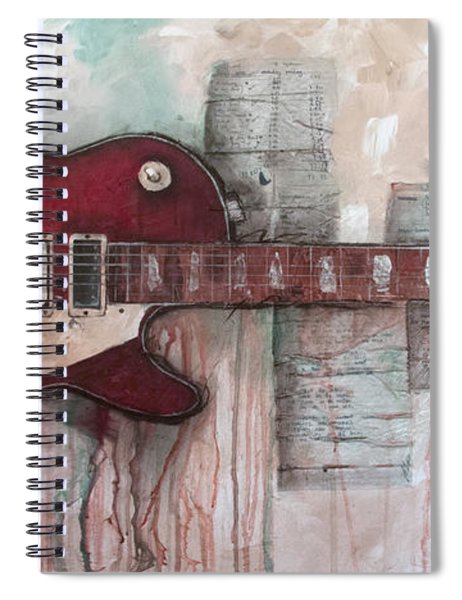 Les Paul Number 5 Spiral Notebook
