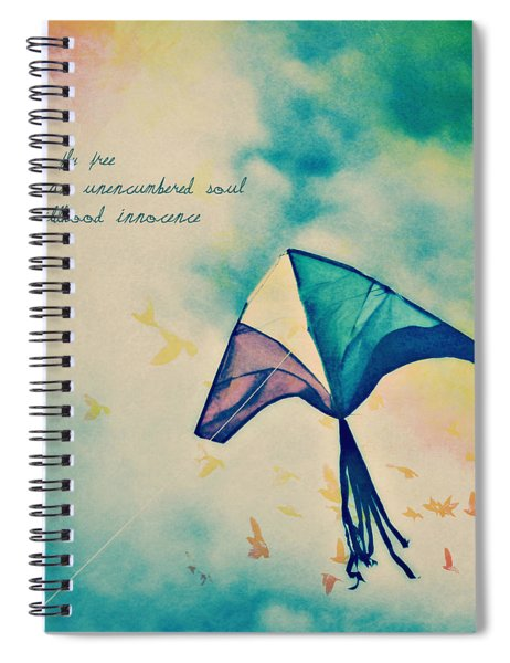 Let Me Fly Free Spiral Notebook