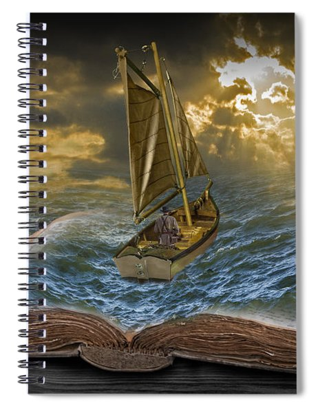 Let The Adventure Begin Spiral Notebook