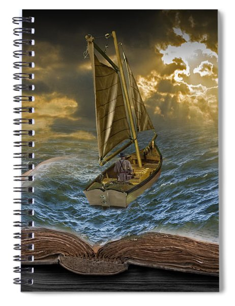 Let The Adventure Begin Spiral Notebook