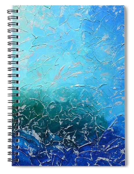 Let The Sea Roar With All Its Fullness Spiral Notebook