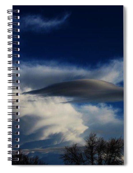 Let The Storm Season Begin Spiral Notebook