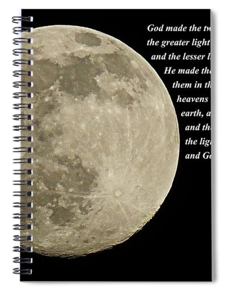 Let There Be Light Spiral Notebook