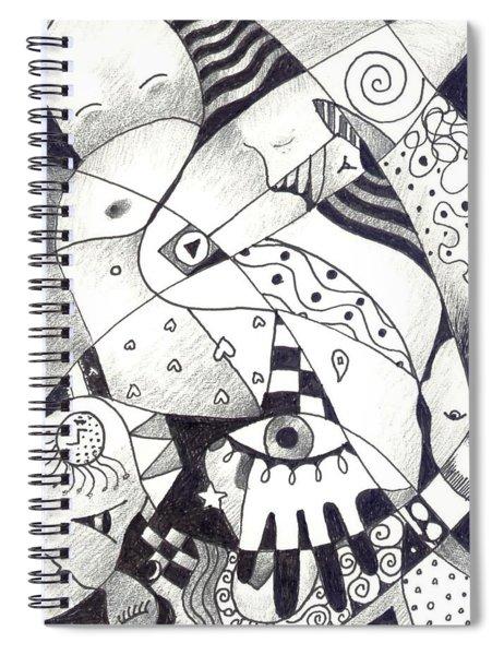 Let Us Dance Spiral Notebook