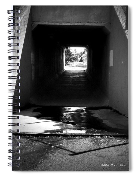 Lethbridge Underpass Spiral Notebook
