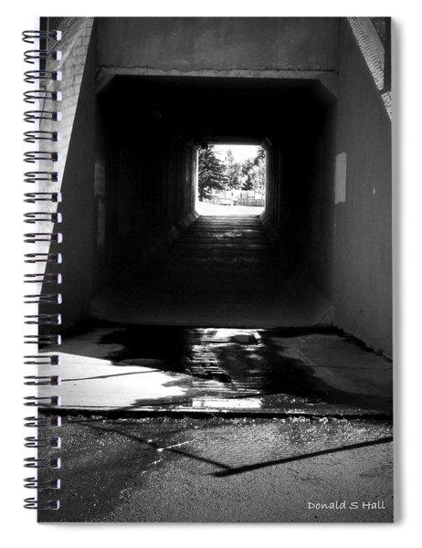 Lethbridge Underpass Spiral Notebook