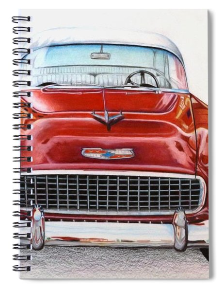 Let's Go For A Ride Spiral Notebook