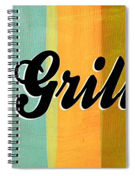 Let's Grill This Spiral Notebook