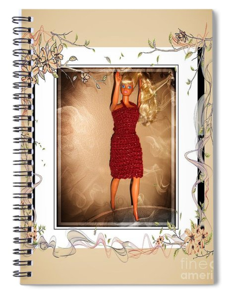 Letting Down My Hair - Fashion Doll - Girls - Collection Spiral Notebook