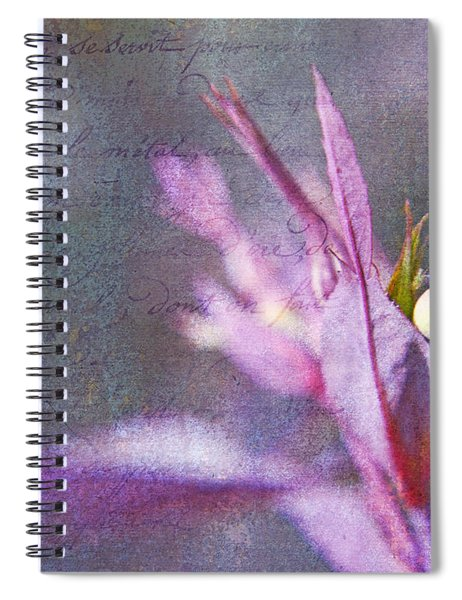 Lettres D'amour Spiral Notebook