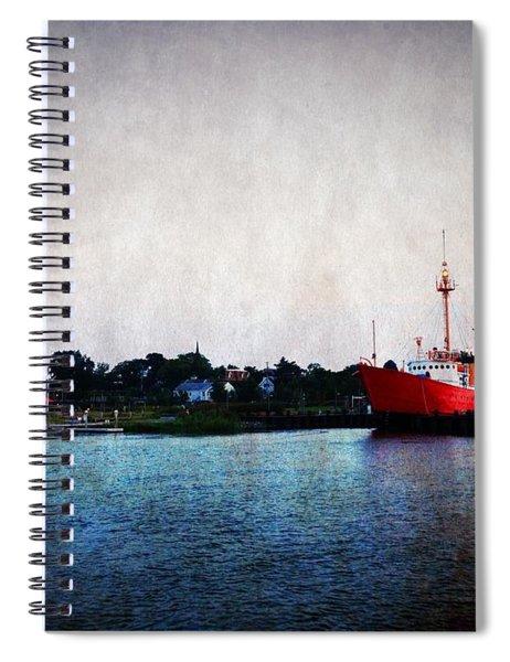 Lewes - Overfalls Lightship 2 Spiral Notebook