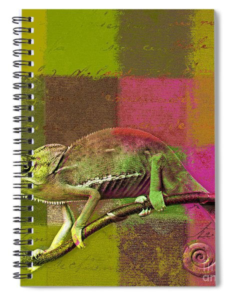 Lezardin - J131131149v5bgrp Spiral Notebook