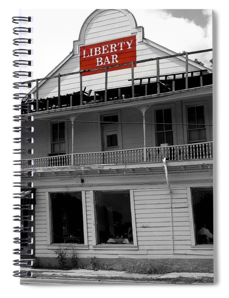 Liberty Bar  Spiral Notebook
