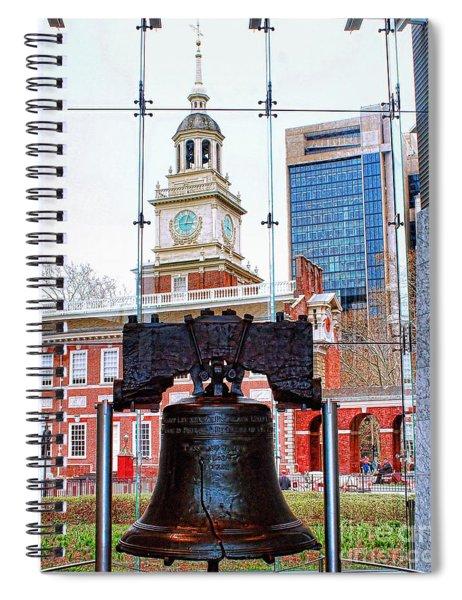 Liberty Bell Spiral Notebook