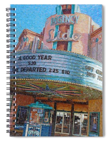 Lido Theater Spiral Notebook