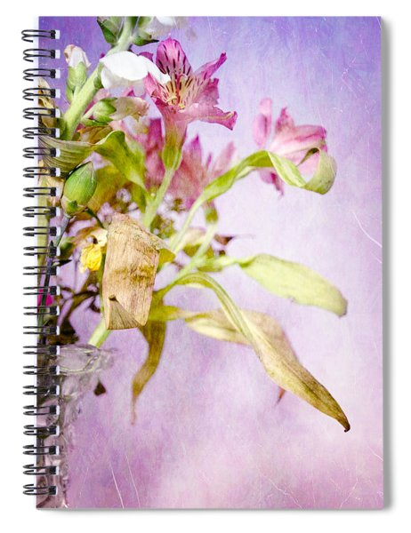 Life And Death Flowers Spiral Notebook