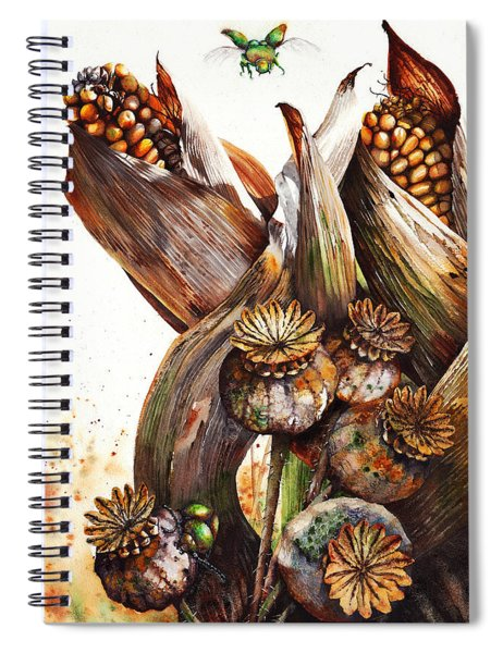 Life Goes On Spiral Notebook