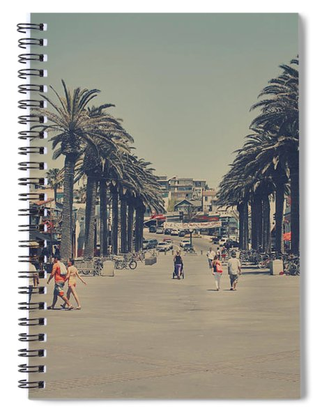 Life In A Beach Town Spiral Notebook