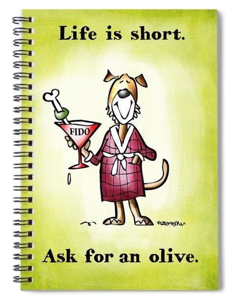 Life Is Short Spiral Notebook