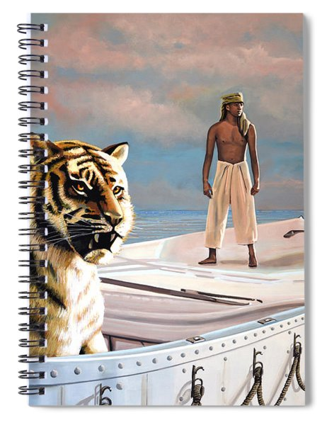 Life Of Pi Spiral Notebook