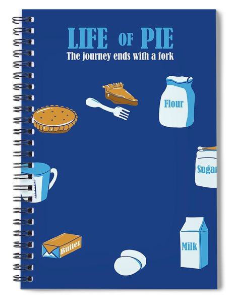 Life Of Pie Spiral Notebook