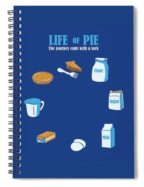 Life Of Pie Spiral Notebook