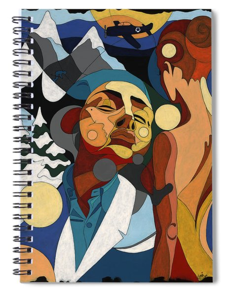 Life Of Roy Painting With Hidden Pictures Spiral Notebook