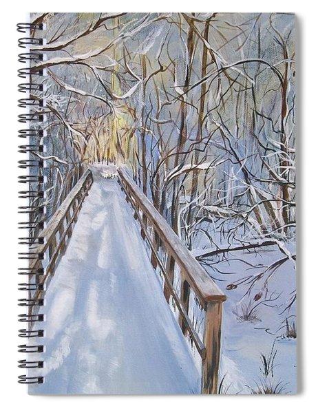 Life's  Path Spiral Notebook