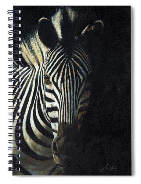 Light And Shade Spiral Notebook