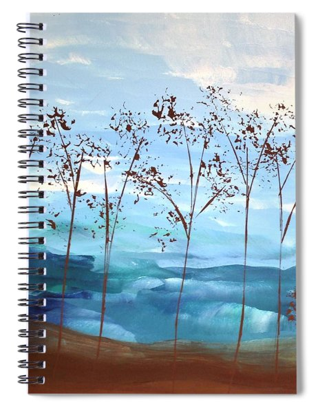 Light Breeze Spiral Notebook