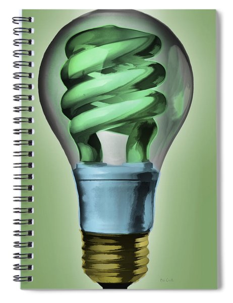 Light Bulb Spiral Notebook