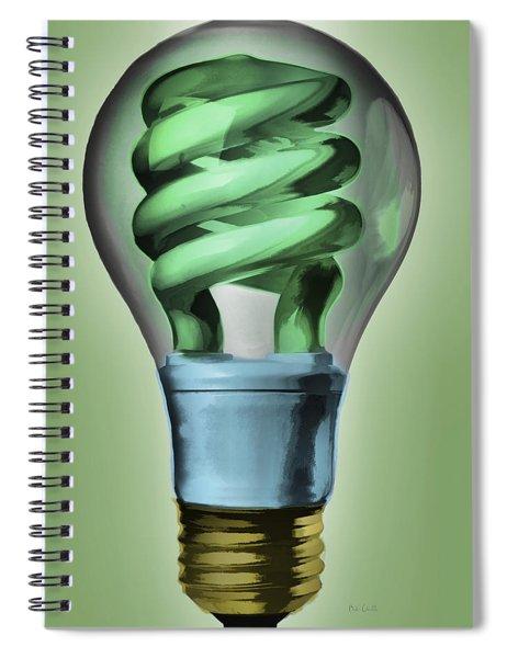 Light Bulb Spiral Notebook
