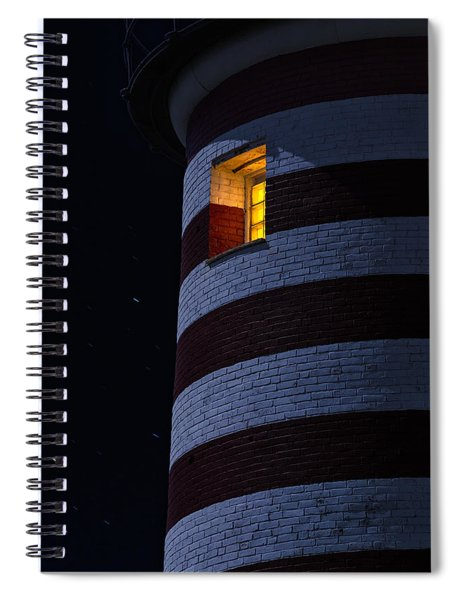 Light From Within Spiral Notebook