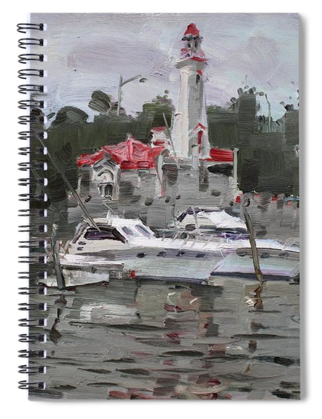 Light House In Mississauga On Spiral Notebook
