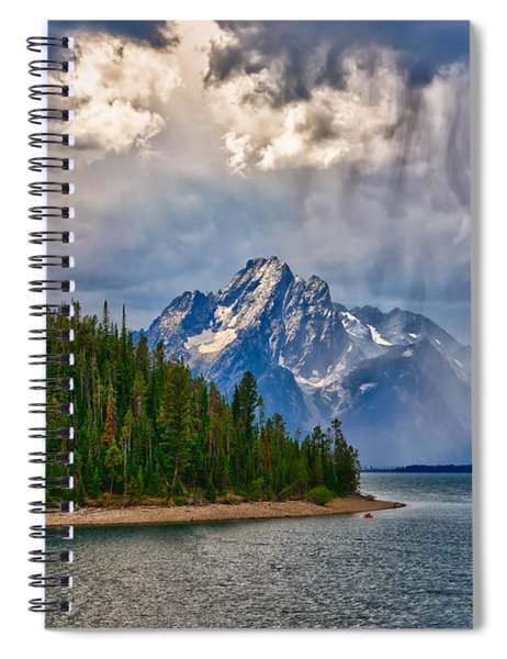 Light On Moran Spiral Notebook
