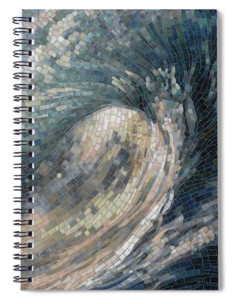 Light Wave  Spiral Notebook